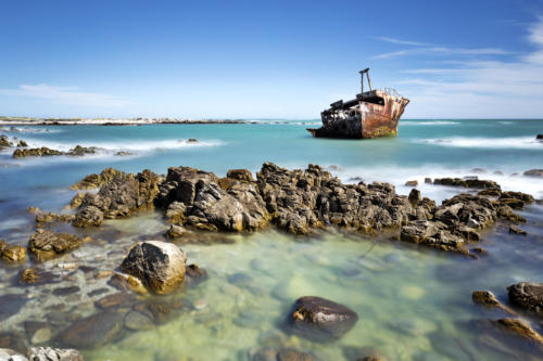 Africa, South Africa, Western Cape, L'Agulhas, Southernmost Tip Of Africa
